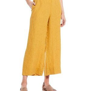 NWT Eileen Fisher Wide-Leg Ankle Pants